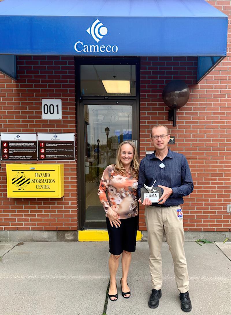 Cameco, Environmental Health & Safety Award Recipient