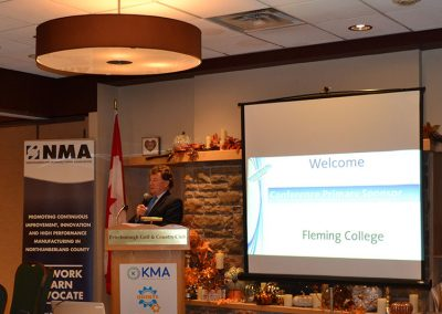 Dr. Tony Tilly, Presedent, Fleming College
