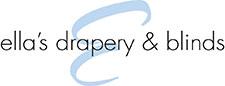 Ella's Drapery & Blinds logo