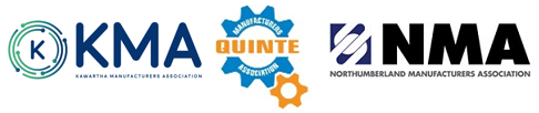 The Northumberland Quinte and Kawartha Manufacturing Association Logos